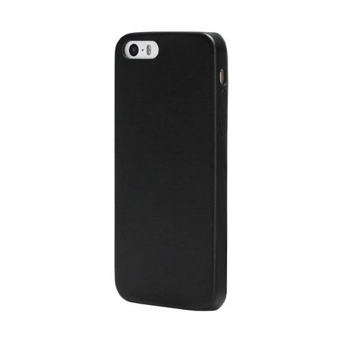 Накладка кожаная uBear iPhone 5/5S/SE Coast Case Black