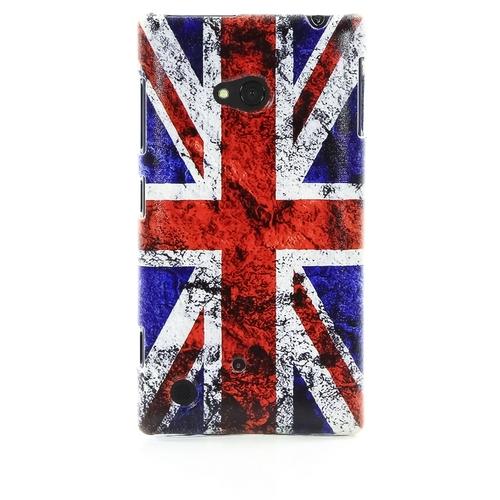 Накладка пластиковая QRCase Nokia 720 Британский флаг N172W