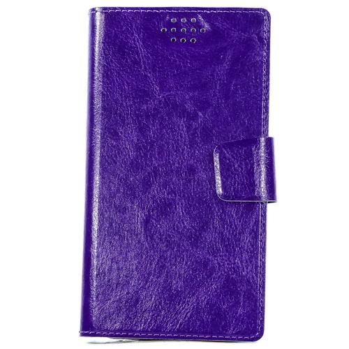"""Чехол-книжка Code универсальный M (4.3""""-5.5"""") Violet"""