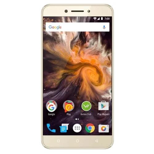 Телефон Vertex Impress Blade Gold