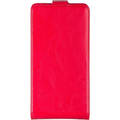 Чехол-флип skinBox HTC One M8 Red