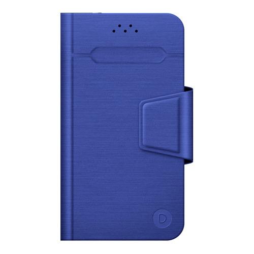"""Чехол - книжка Deppa Wallet Fold L универсальный (5.5""""-6.5"""") Blue"""