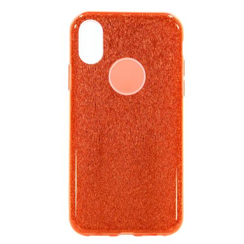 Накладка силиконовая Fashion Case Iphone X Shining 2 in 1 Red