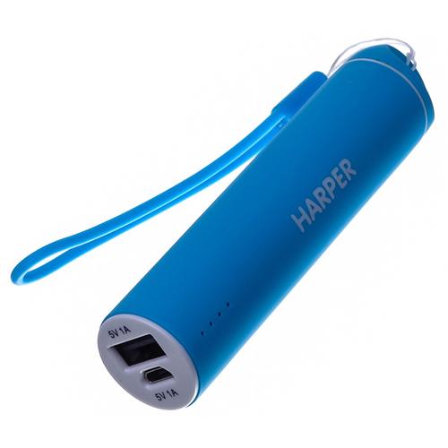 Внешний аккумулятор Harper PB-2602 2200 mAh Blue