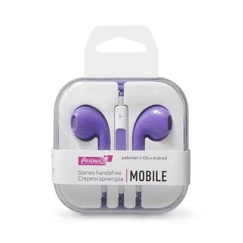 Гарнитура Partner Mobile, Violet