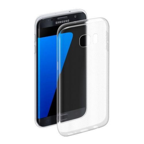 Накладка силиконовая Deppa Gel Case Samsung Galaxy S7 Edge Clear