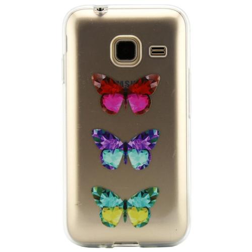 Накладка силиконовая Code Samsung J1 mini (2016) Butterfly