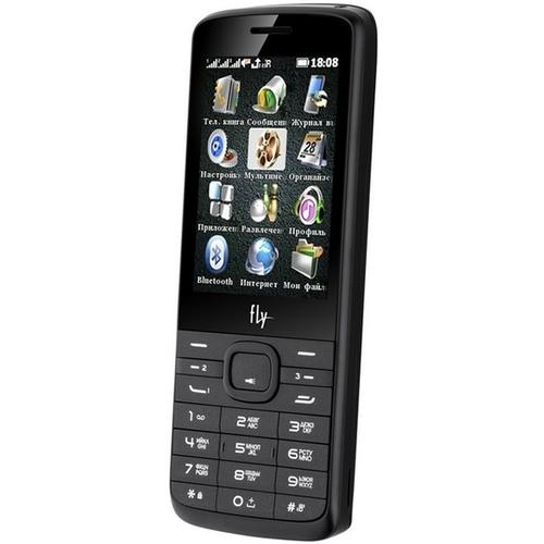 Телефон Fly TS113 Black