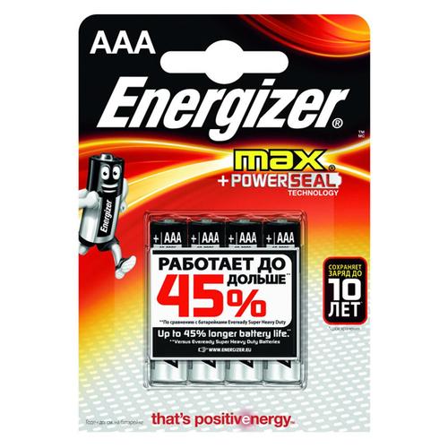 Батарея Energizer LR03 AAA (блистер 4шт.)