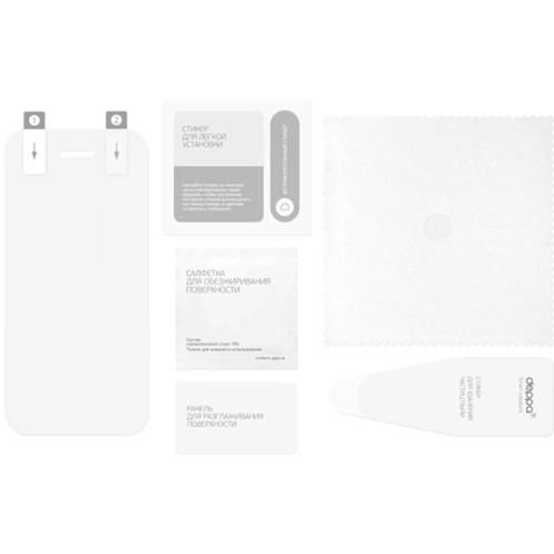 Чехол-книжка для iPhone 6 Plus PU Wallet Cover и защитная пленка, Deppa, фиолетовый фото 2