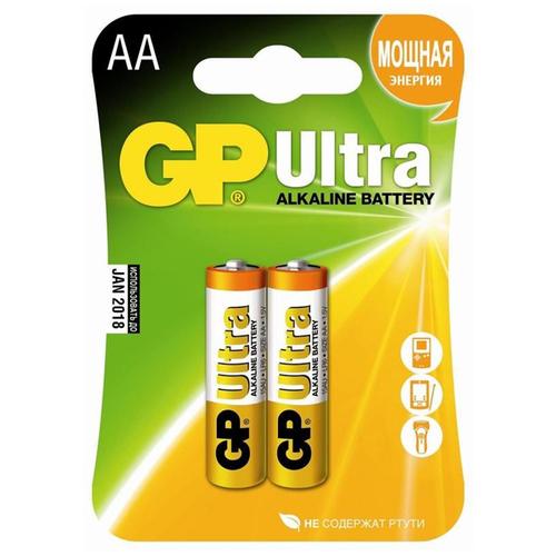 Батарея GP Ultra LR6 AA (блистер 2шт.) фото