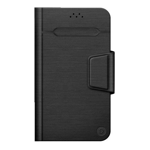 """Чехол - книжка Deppa Wallet Fold M универсальный (4.3""""-5.5"""") Black"""
