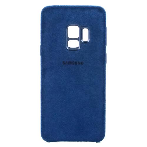 Накладка Samsung Alcantara Cover для Galaxy S9 (EF-XG960ABEGRU) Blue