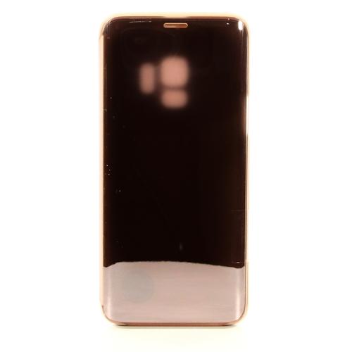 Чехол-книжка Samsung Clear View Standing Cover Galaxy S9 (EF-ZG960CFEGRU) Gold