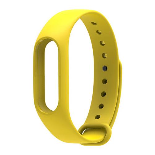 Ремешок для фитнес-браслета Xiaomi Mi Band 2 Yellow