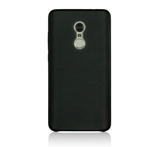 Накладка кожаная G-Case Slim Premium для Xiaomi Redmi Note 4 Black