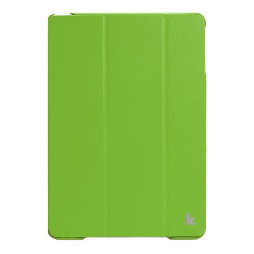 Чехол-флип Jisoncase iPad Air зелёный