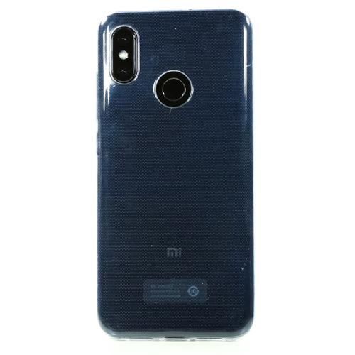 Накладка силиконовая Goodcom Ultra slim Xiaomi MI8 White фото