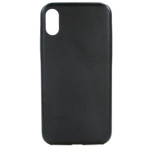 Накладка кожаная uBear iPhone X Coast Case Black