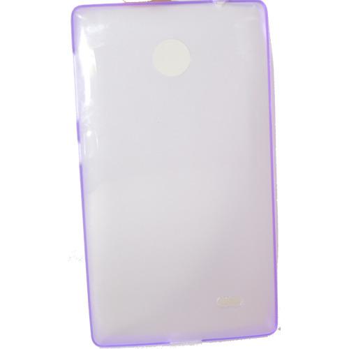 Накладка силиконовая Ultra slim Nokia X Dual sim Glossy Violet