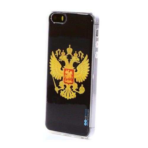 Накладка силиконовая IceTwice iPhone 5/5S/SE Герб №402