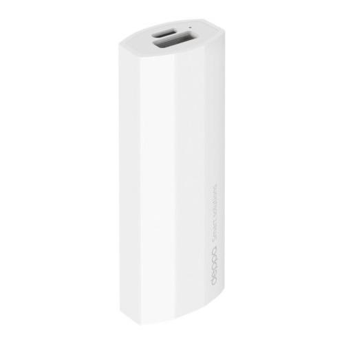 Внешний аккумулятор Deppa NRG Power 2600 mAh White