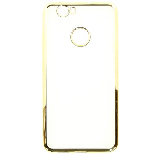 Накладка силиконовая Muvit Bling Case Huawei Nova  Gold