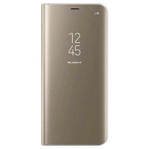 Чехол-книжка Samsung Clear View Standing Cover Galaxy S8+ (EF-ZG955CFEGRU) Gold