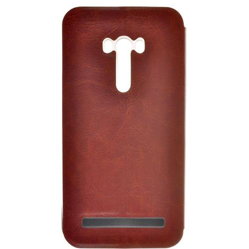 Чехол-книжка skinBox Lux Asus ZenFone Selfie ZD551KL Brown