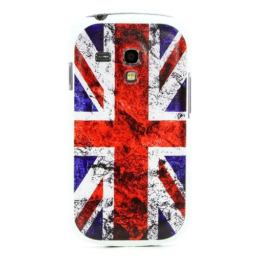 Накладка пластиковая QRCase на Samsung I8190 Британский флаг N172W