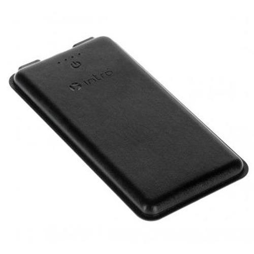 Внешний аккумулятор Intro PB1001 10000 mAh экокожа Black