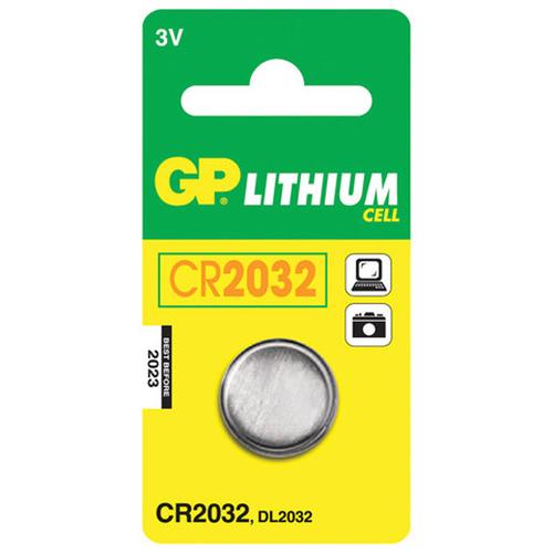 Батарея GP Lithium CR2032 (блистер 1шт.) фото