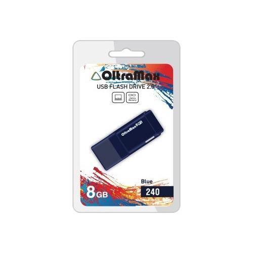 Флешка USB OltraMax 240 (8Gb) Blue