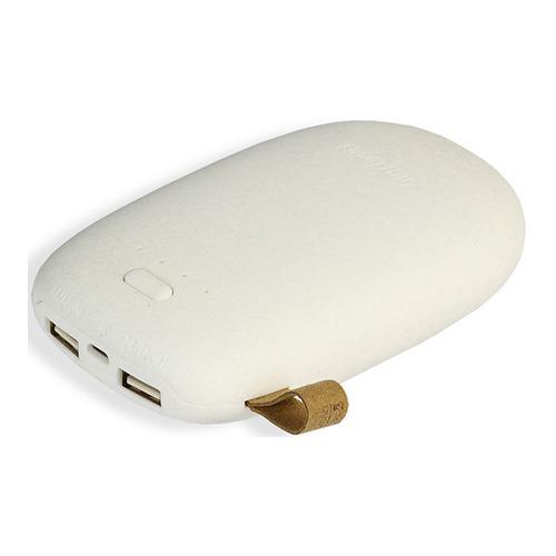 Внешний аккумулятор SmartBuy Golem 2USB 5200 mAh (SBPB-9910) White фото 2