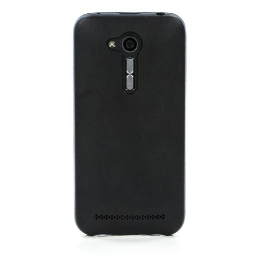 Накладка кожаная G-Case Slim Premium для ASUS ZenFone Go ZB452KG Black
