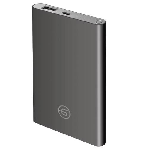 Внешний аккумулятор Ginzzu GB-3904G 4500 mAh 1A/5V Dark Gray