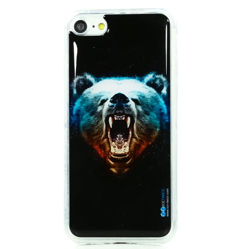 Накладка силиконовая IceTwice iPhone 7/8 Медведь №1024