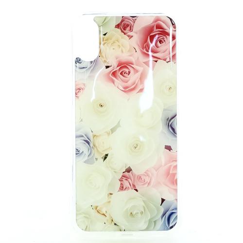 Накладка силиконовая IceTwice iPhone X Розы №1199