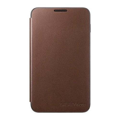 Чехол - книжка Flip Cover Samsung Galaxy Note N7000 Brown
