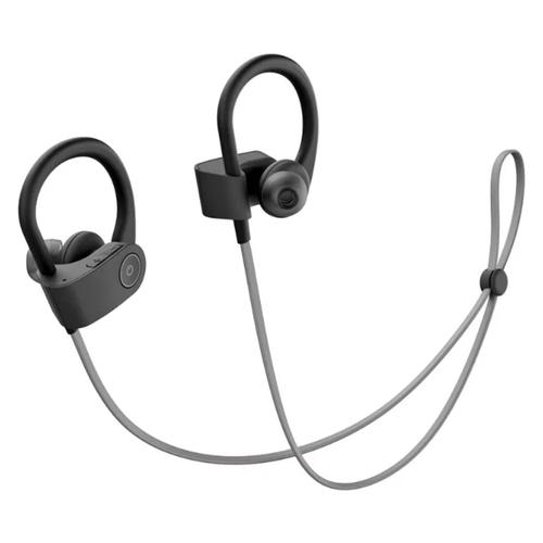 Блютуз наушники Deppa Prime Line XB-Fit Pro BT4.2 черно-серые