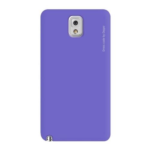 Накладка пластиковая Deppa Air Case Samsung Galaxy Note 3 Violet