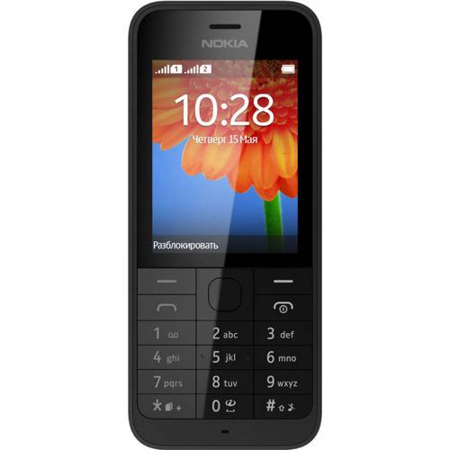 e69fd44e109 Телефон Nokia 220 Dual sim Black купить за 1790 руб. в Мск