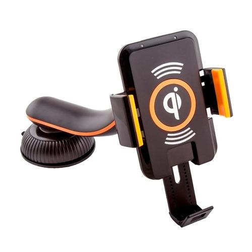 Держатель в авто Saitake STK-A9 + Wireless Charger Orange