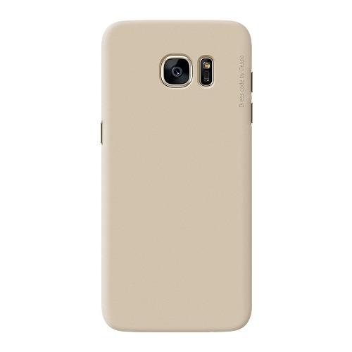 Накладка пластиковая Deppa Air Case Samsung Galaxy S7 Edge Gold