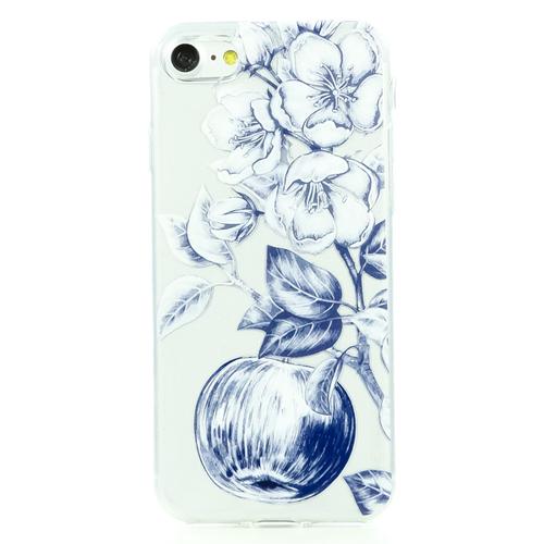 Накладка силиконовая BoraSCO ArtWorks iPhone 7/8 Цветение яблони