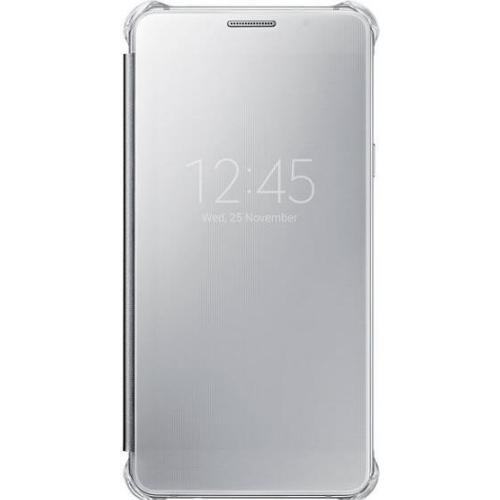 Чехол - книжка Samsung Clear View Cover Galaxy A7 (2016) (EF-ZA710CSEGRU) Silver фото