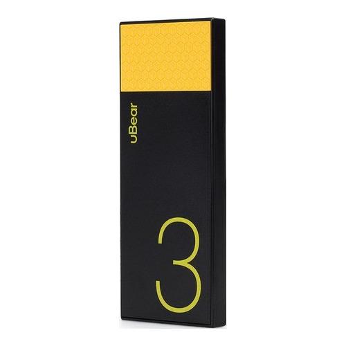 Внешний аккумулятор uBear PB05 Light 3000 mAh Black Yellow