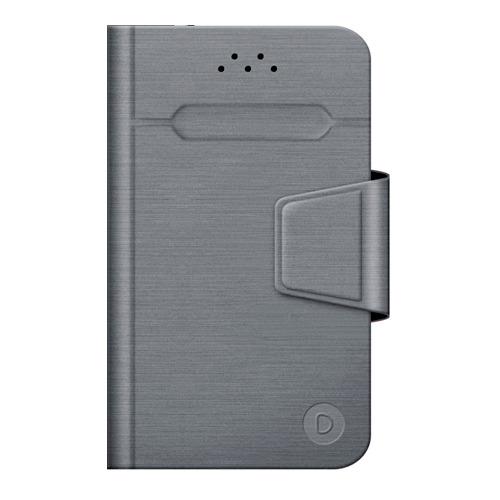 """Чехол - книжка Deppa Wallet Fold M универсальный (4.3""""-5.5"""") Grey"""