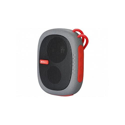Колонка и внешний аккумулятор InterStep SBS-260 (Bluetooth, micro SD) 2600 mAh Red