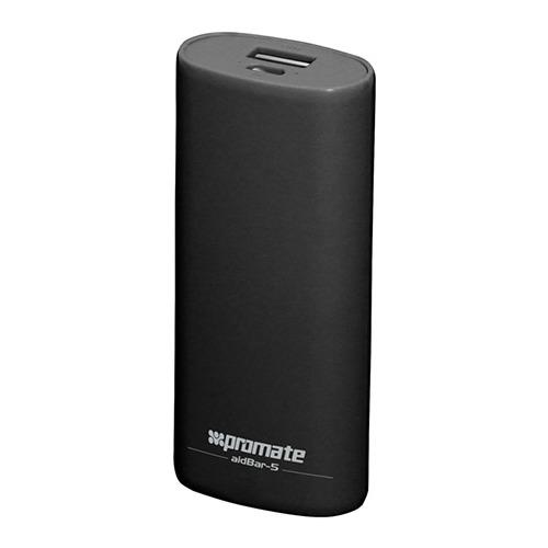 Внешний аккумулятор Promate aidBar-5 5200 mAh Black